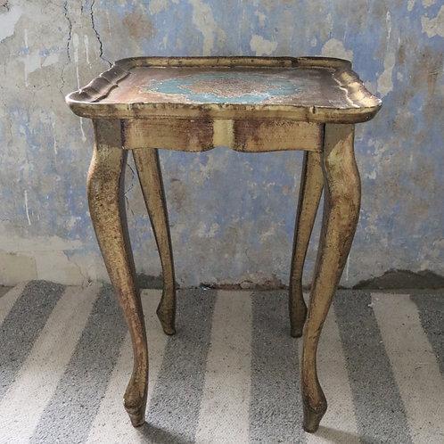 Vintage Florentine Side Table
