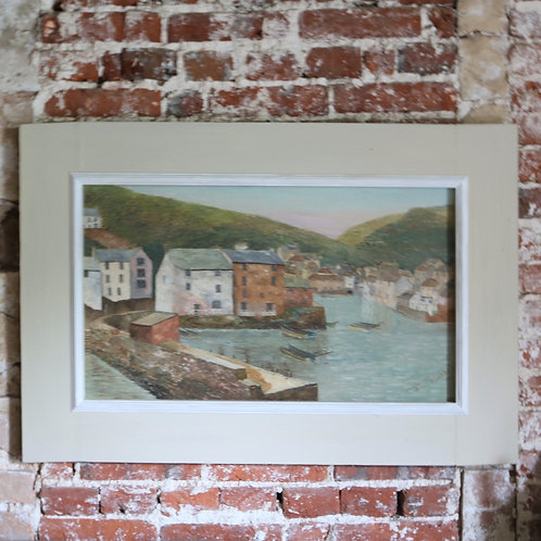 Original Oil Painting - Polperro Cornwall