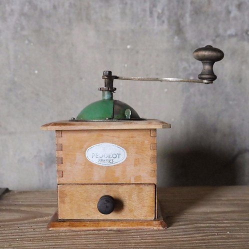Peugeot Coffee Grinder Mill Green