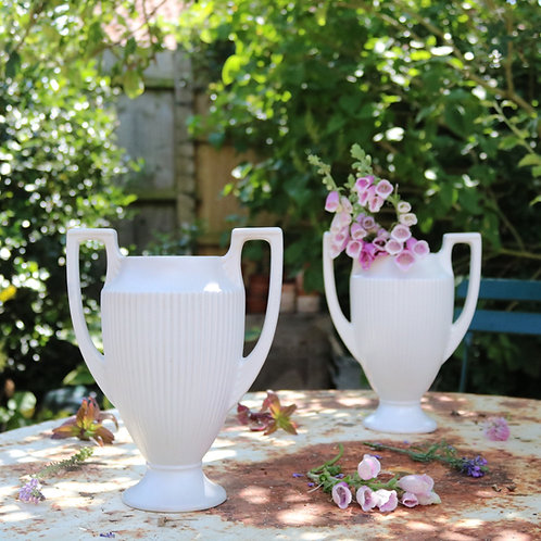 Dartmouth Pottery Vase Urns Pair