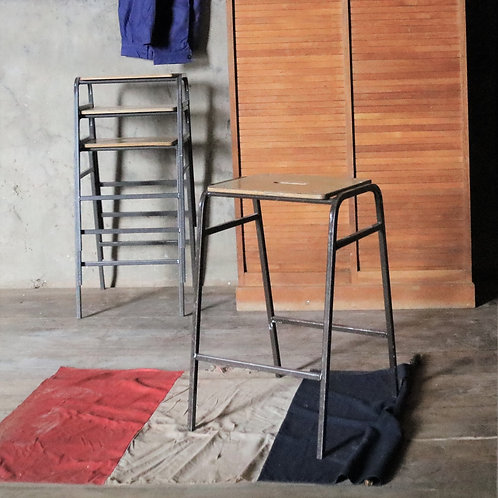 Stackable Lab Stools - Grey
