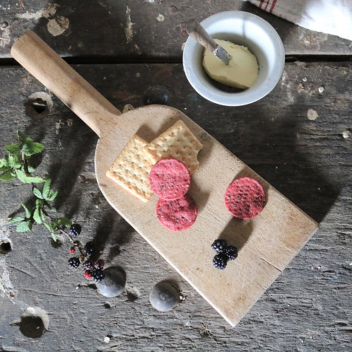 Small French Rustic Vintage Paddle Chopping Serving Board