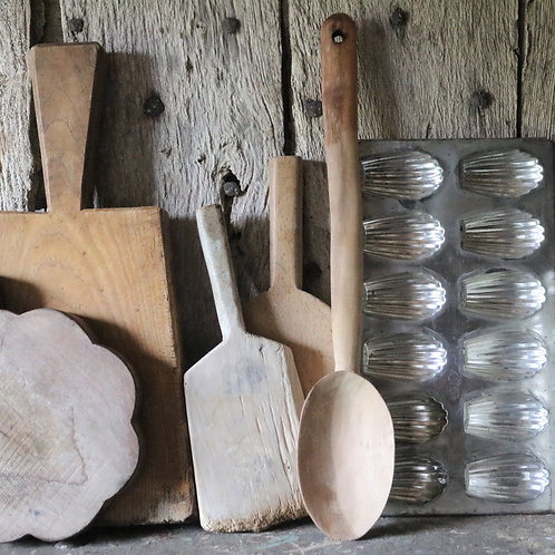 Extra Large Rustic Handmade Wooden Spoon