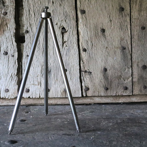 Vintage Chrome Tripod