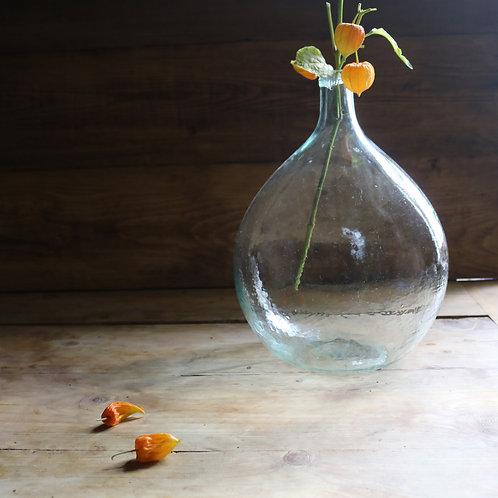 Vintage Glass Carboy Bottle