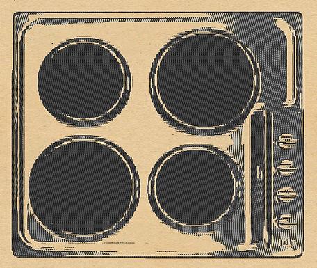 Electric Hob 4 Ring