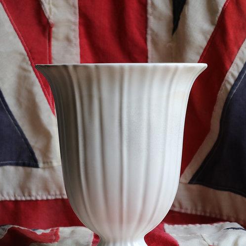 Large Beswick Vase Antique White