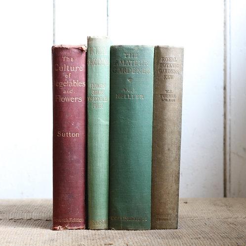 Old Vintage Gardening Books