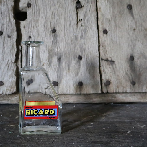 1960's Ricard Glass Water Carafe
