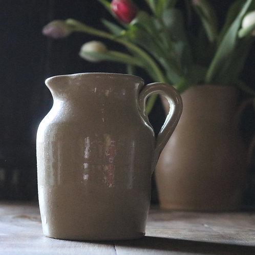 Simple Vintage Stoneware Jug