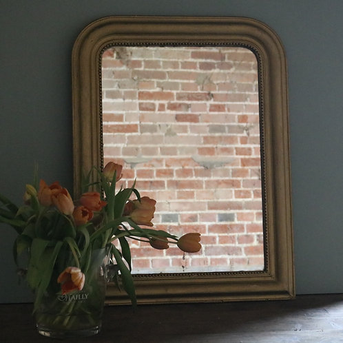 Arched Gold Louis Philippe Mirror