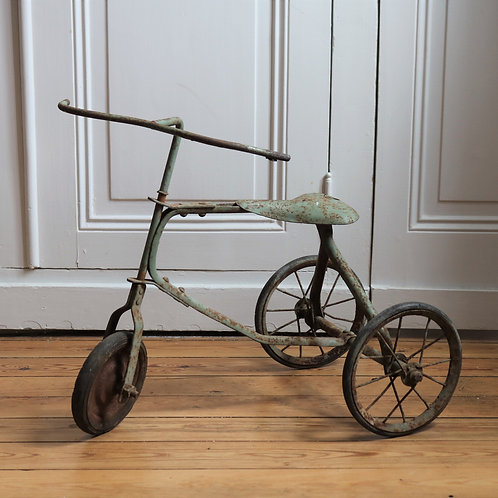 Antique Child Toy Tricycle Bike