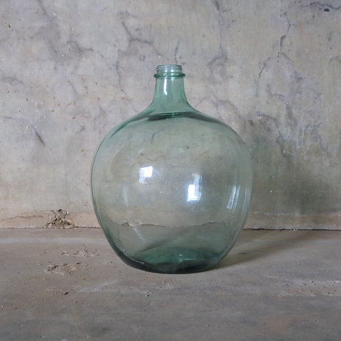 Extra Extra Extra Large Tall Green Vintage Glass Carboy