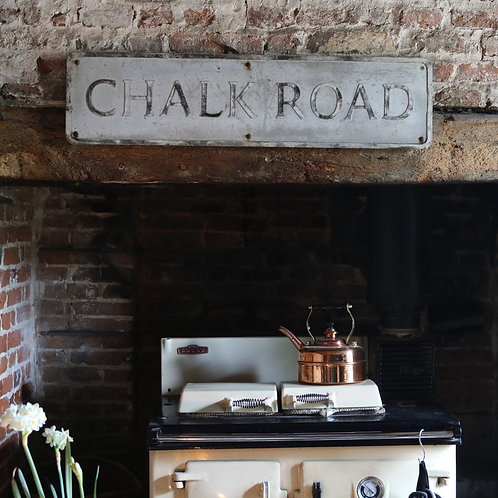 Chalk Road  - Original Street Sign