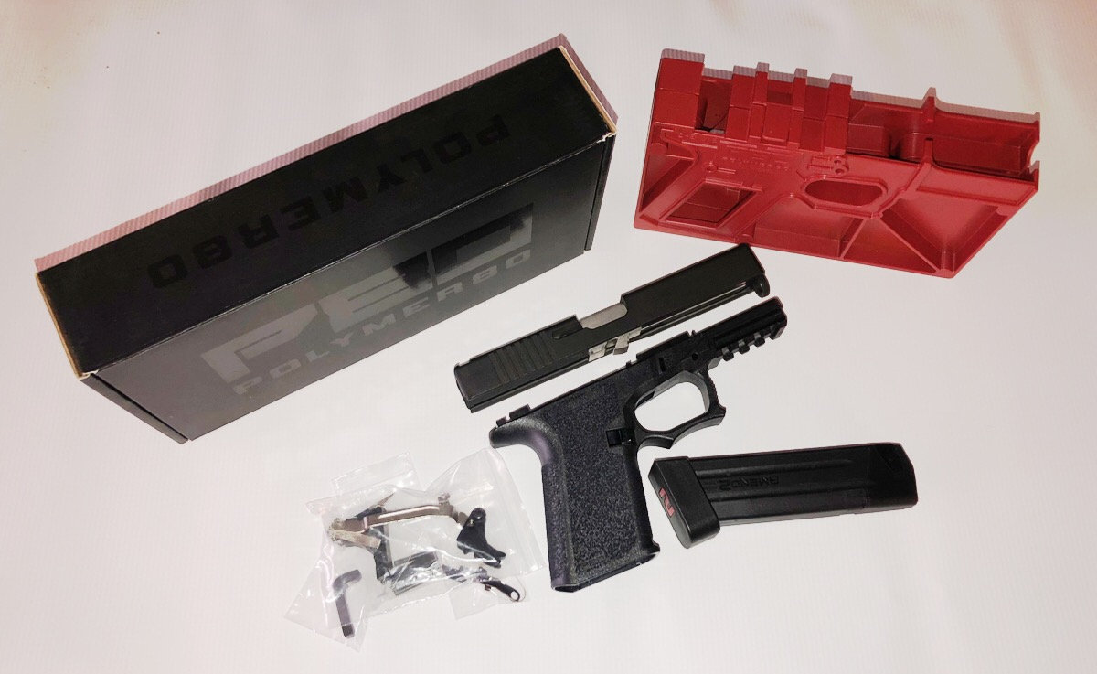 80% GLOCK 19 GEN 3 COMPLETE BUILD KIT