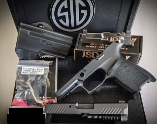 80% SIG P320 FULL SIZE COMPLETE BUILD KIT WITH CAA MCK