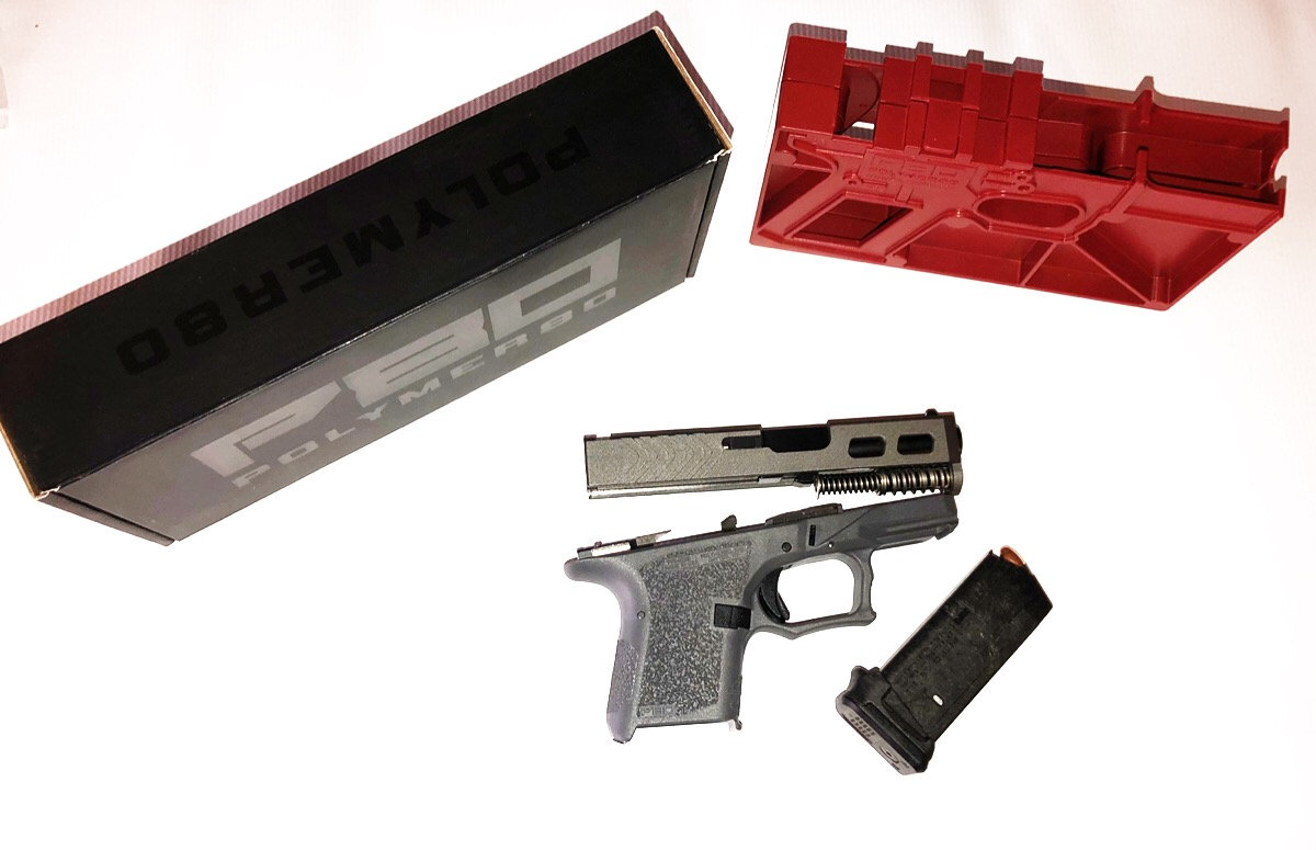 80% GLOCK 26 COMPLETE BUILD KIT