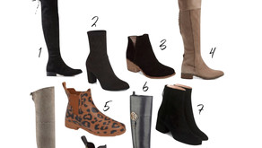 My Favorite Boots + Booties