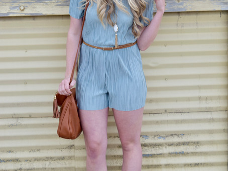 Rompers + Lace