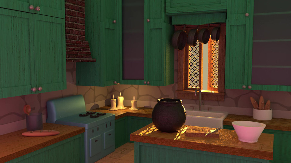 Witch's Kitchen Model