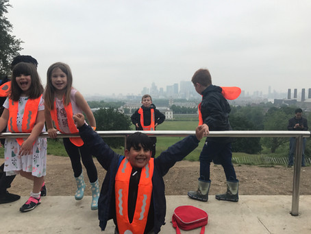 KidsOwn Holiday Club day trip to Greenwich during May Half Term