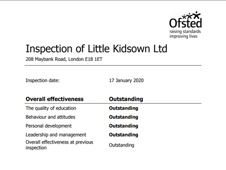 Little KidsOwn nursery retains Ofsted 'Outstanding' in recent inspection