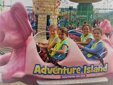 Holiday Club trip to Adventure Island in Southend