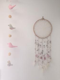 Attrape-rêve chambre de bébé