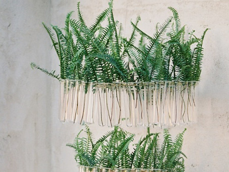 DIY - Lustre Florido