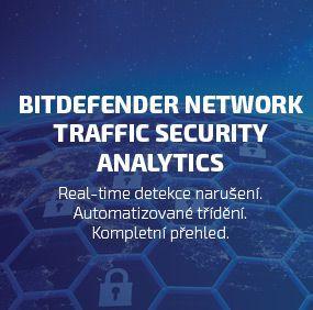 Bitdefender posiluje a vylepšuje analýzu chování a zabezpečení sítě