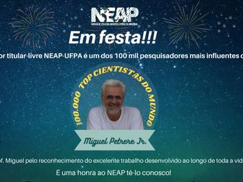 Professor titular livre NEAP-UFPA é um dos 100 mil pesquisadores mais influentes do mundo