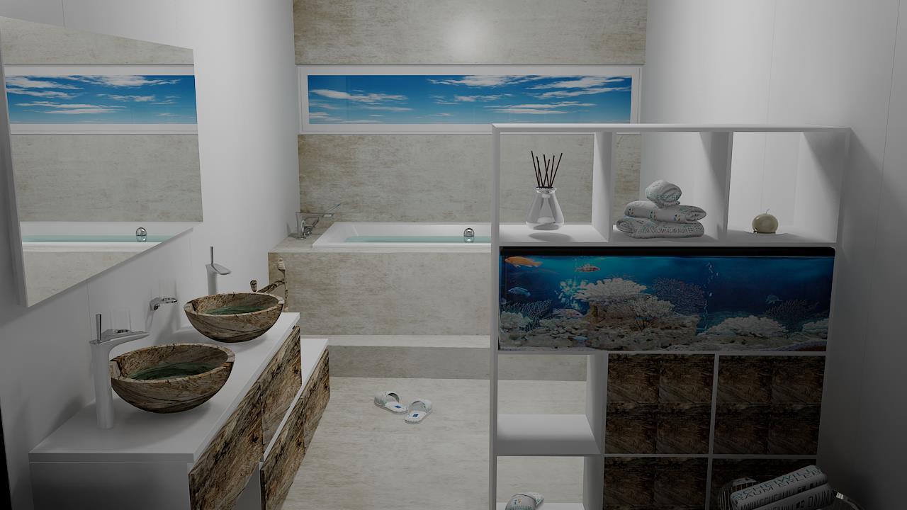 Badezimmer Redesign