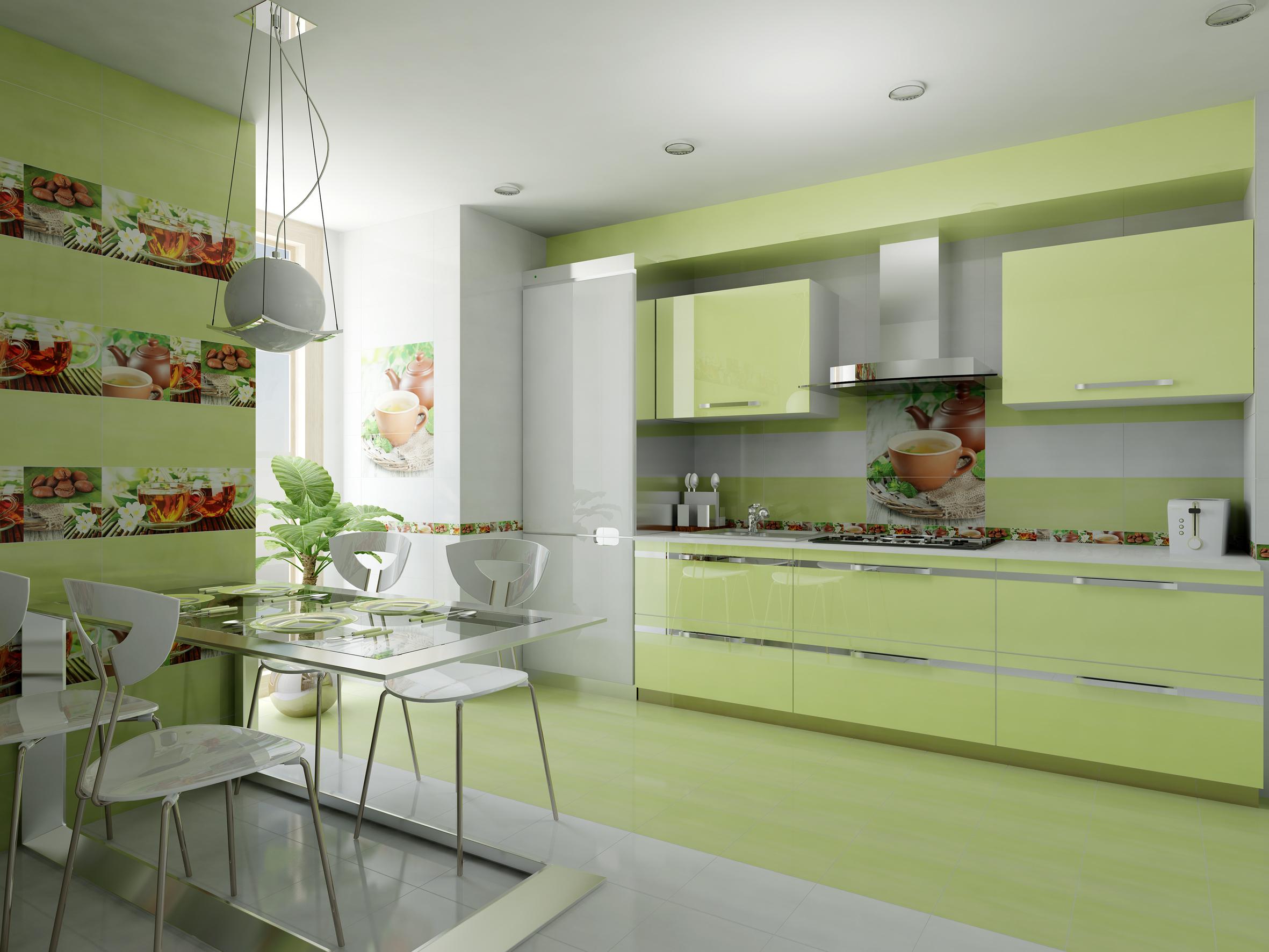 Neugestaltete Küche