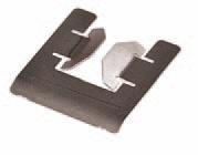 Metallplatine für Glocke, 100er Pack