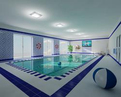 Indoorpool komplett erneuert