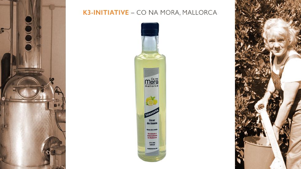 Ca na Mora – Licor de limón - Zitronenlikör