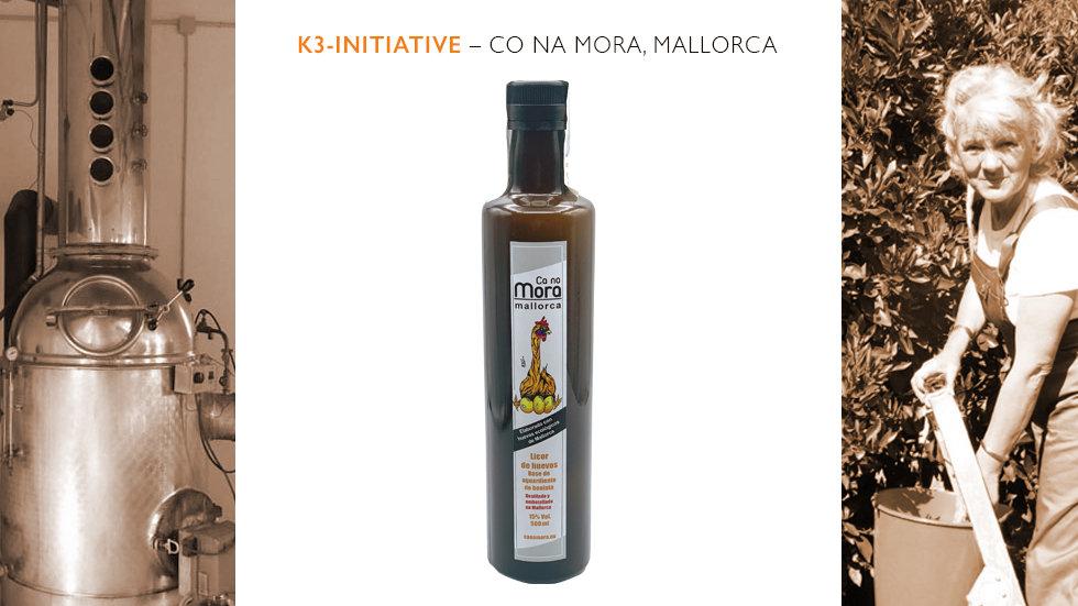 Ca na Mora – Licor de Huevo - Eierlikör auf Süßkartoffelbrandbasis