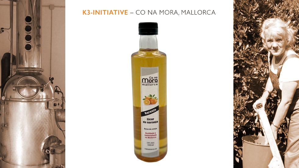 Ca na Mora – Licor de Naranja - Orangenlikör
