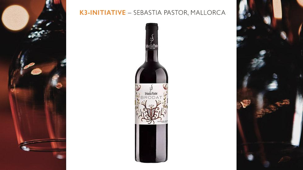 Sebastià Pastor -  Negre Crianza Brodat, Vino Tinto 2018