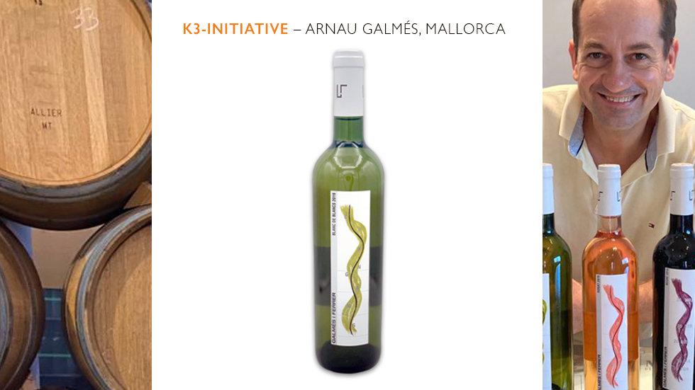 Galmés i Ferrer – Blanc de Blancs, Vino Blanco,