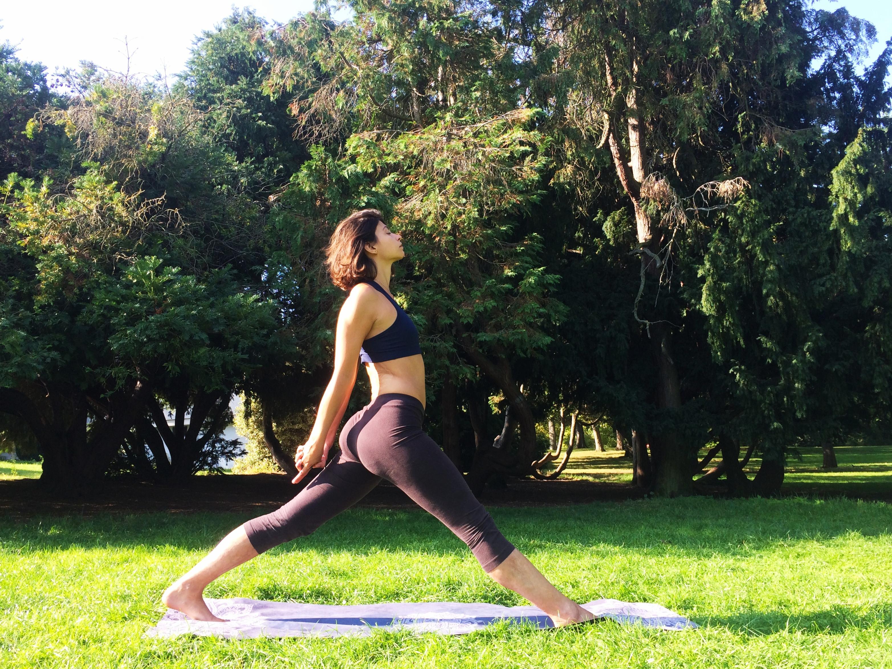 Yoga au Parc Montsouris - Paris