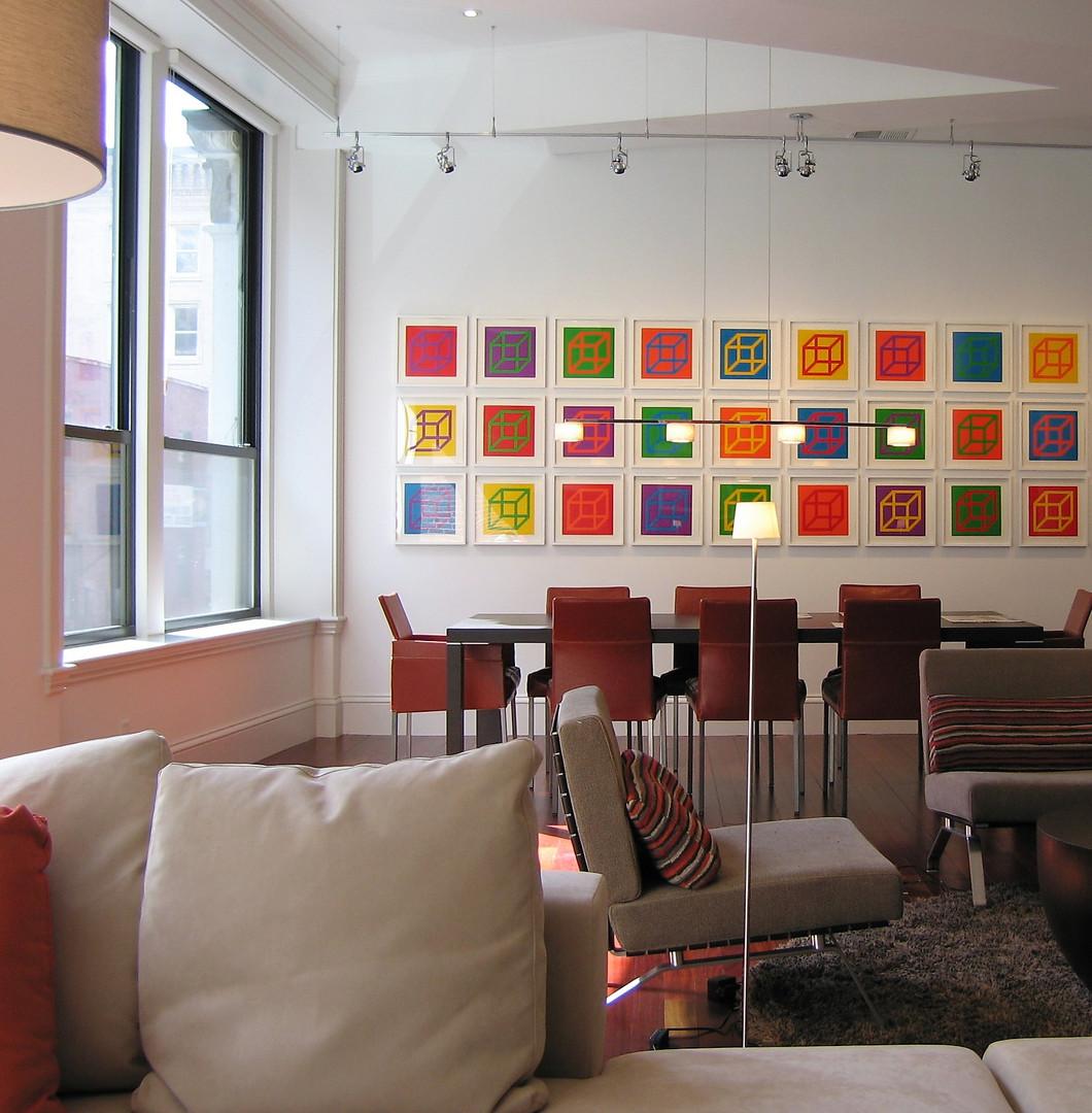Boston Loft Dining Room