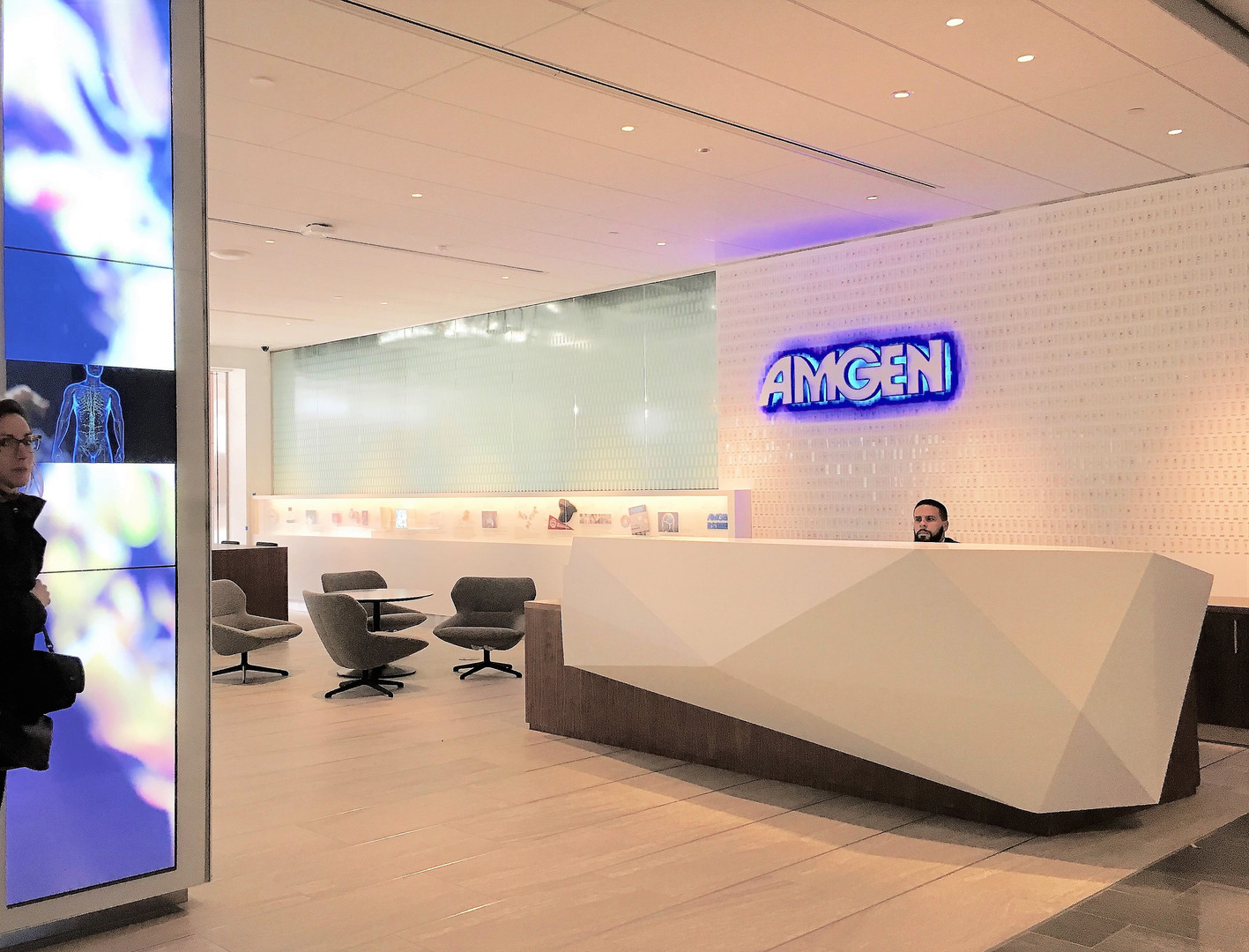 Lobby Interactive Display