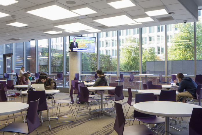 Suffolk Univerity Dining Hall