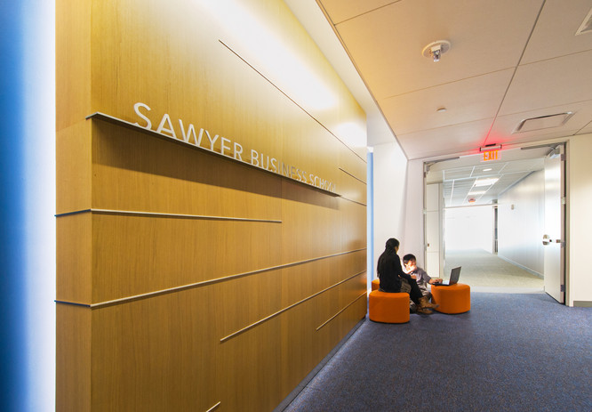Sawyer Business School Entry