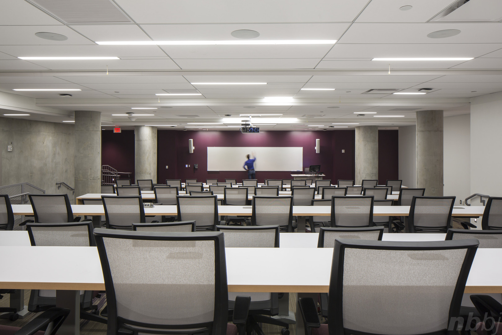 Tiered Classroom