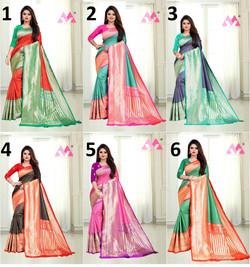 5033.Drashti-Rs.550(Banarasi Silk)