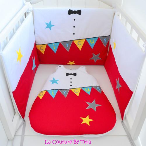 La Couture By Titia Créations bébé fait main, tour de lit, turbulettes
