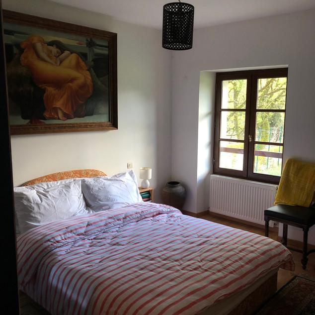 Cobalt bedroom double bed