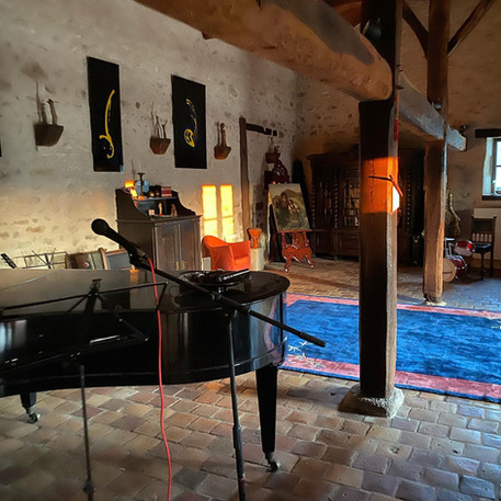 The music room in the morning